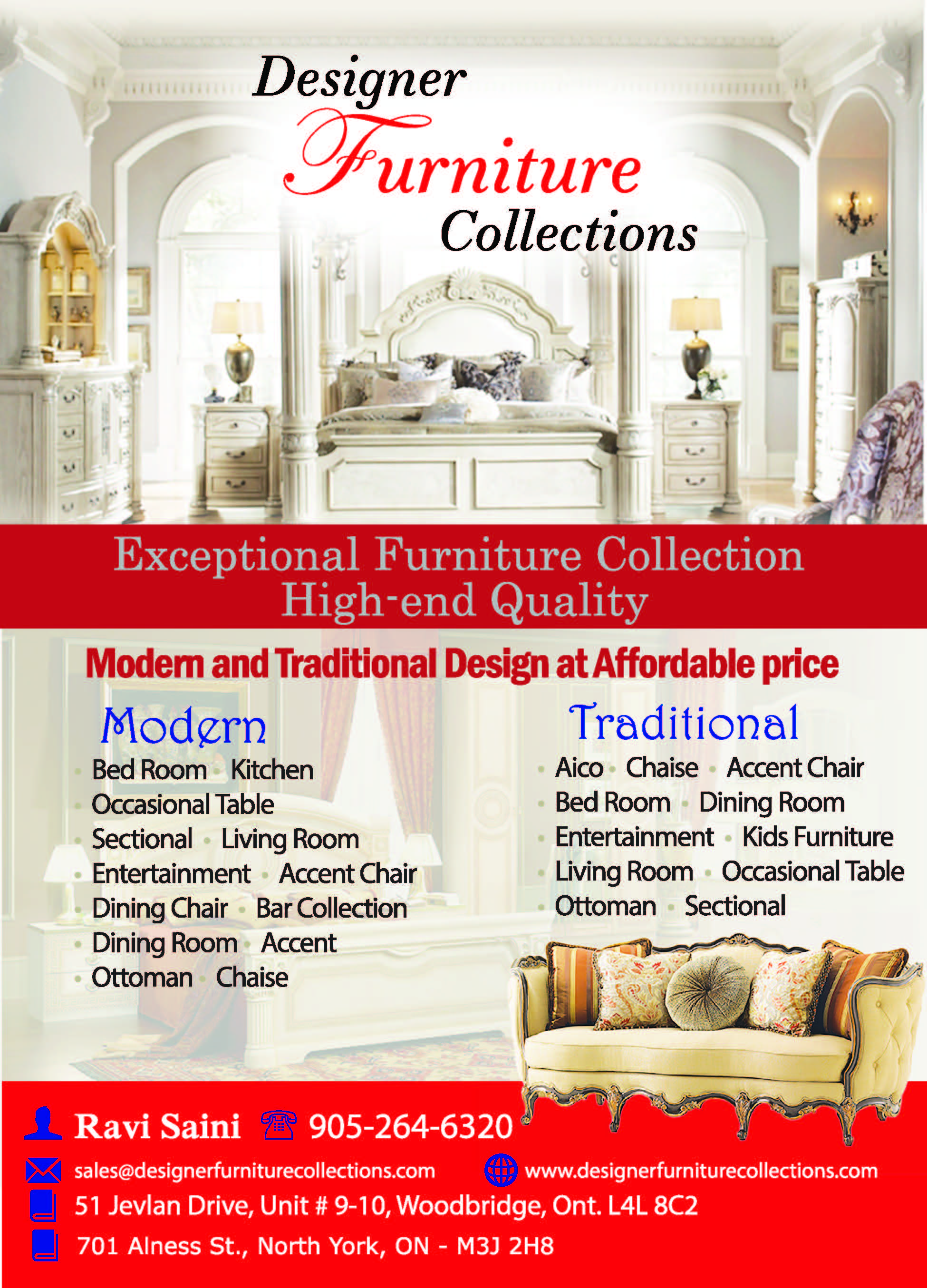 Designer Furniture Collections 416 pages